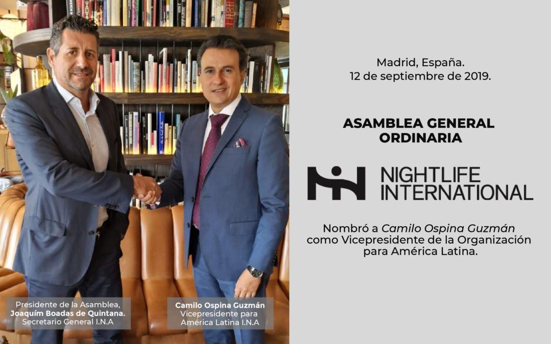 Presidente de ASOBARES, Camilo Ospina, es el nuevo Vicepresidente para América Latina de I.N.A