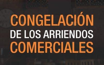 CONGELACIÓN DE ARRIENDOS