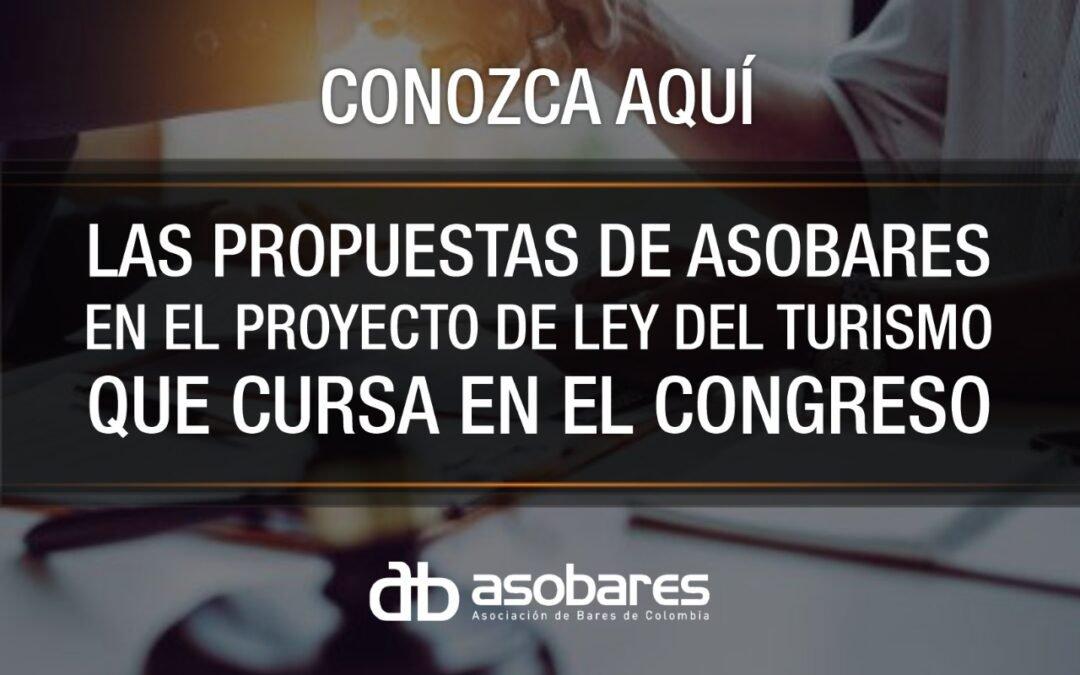 LAS PROPUESTAS DE ASOBARES EN EL PROYECTO DE LEY DEL TURISMO QUE CURSA EN EL CONGRESO